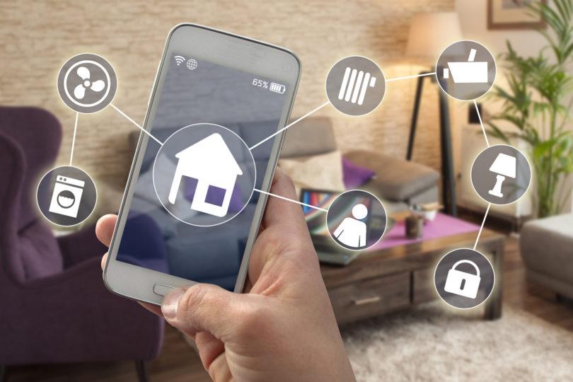Smarthome Smartphone Hausautomatioon Smart Home